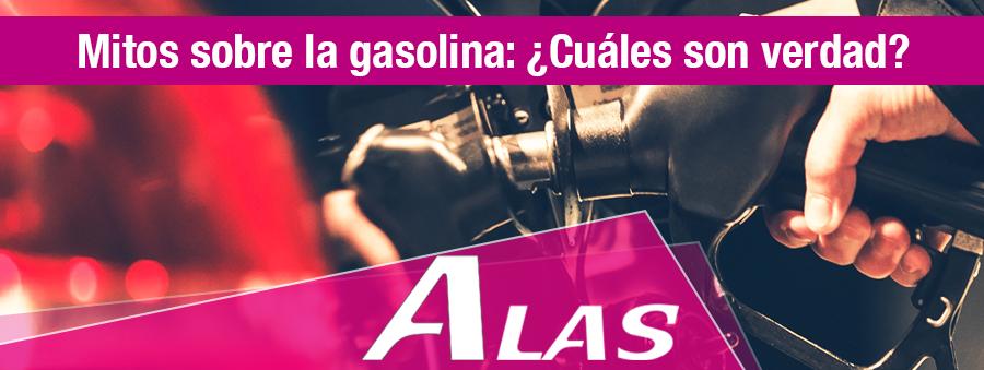 Mitos sobre la gasolina: ¿Cuáles son verdad?