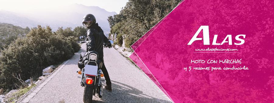 ¿Por qué conducir una moto con marchas?