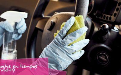 Desinfectar correctamente nuestro vehículo
