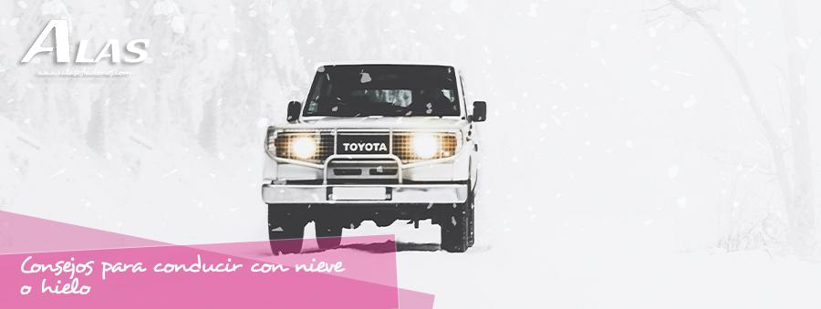 consejos conducir nieve o hielo