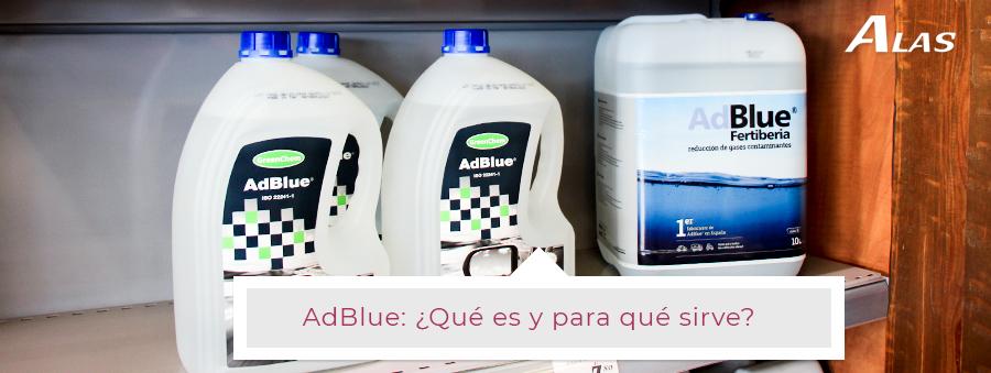 ¿Qué es el famoso AdBlue y cuál es su función?