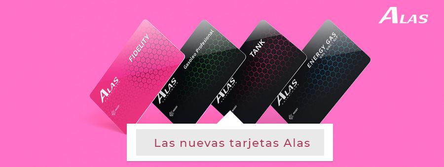 Nuevas tarjetas Alas